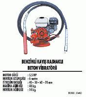 Benzinli Kayış Kasnaklı Beton Vibratörü