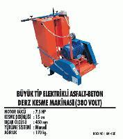 Büyük Tip Elektrikli Asfalt-Beton Derz Kesme Makinası (380 Volt)