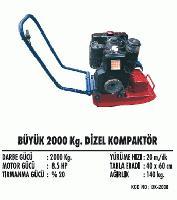 Büyük 2000 Kg. Dizel Kompaktör