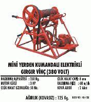 Mini Yerden Kumandalı Elektrikli Gırgır Vinç (380 Volt)