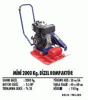 Mini 2000 Kg. Dizel Kompaktör