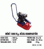 Mini 1000 Kg. Dizel Kompaktör