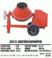 250 lt. Elektrikli Betoniyer