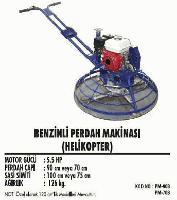 Benzinli Perdah Makinası (Helikopter),