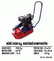 Mini 2000 Kg. Benzinli Kompaktör