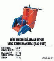 Mini Elektrikli Asfalt-Beton Derz Kesme Makinasıı (380 Volt)