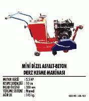 Mini Dizel Asfalt-Beton Derz Kesme Makinası