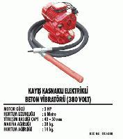 Kayış Kasnaklı Elektirkli Beton Vibratörü ( 380 Volt)