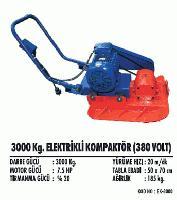 3000 Kg. Elektrikli Kompaktör (380 Volt)