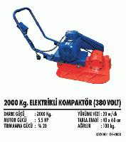 2000 Kg. Elektrikli Kompaktör (380 Volt)